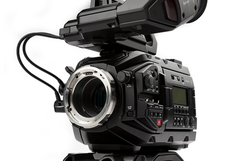 NEW! Blackmagic Ursa Mini PRO 4.6K