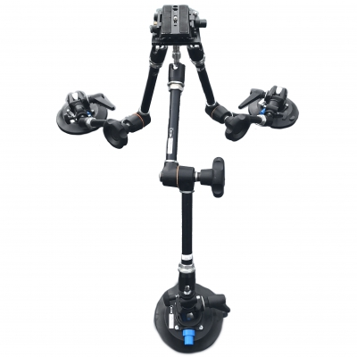 Car suction mount kit