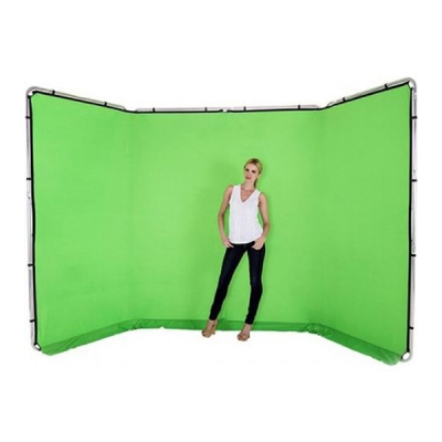 Lastolite Panoramic Background Green 400cm
